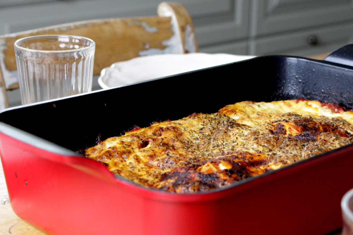 Gluten- og melkefri lasagne